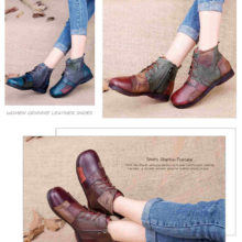 Real Leather Shoes | Tastabo | Handmade Ankle Boots